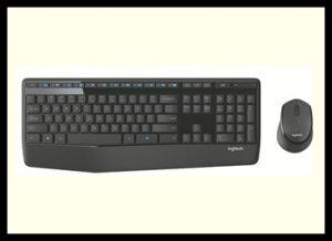 Logitech MK345 Software