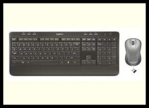 Logitech MK520 Software